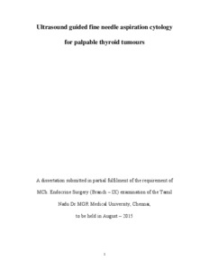thyroid fnac thesis