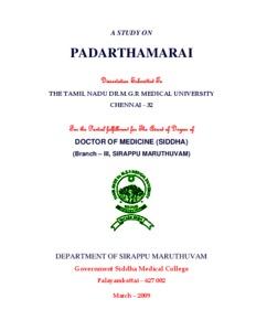 Siddha Maruthuvam In Tamil Pdf