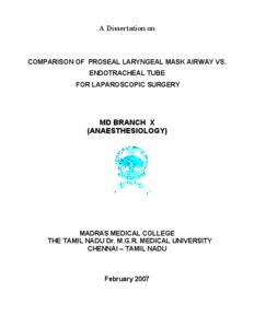 proseal lma thesis